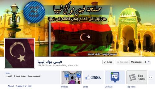 Libya Facebook