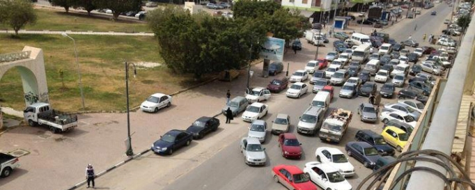 Photo from Benghazi Gamal Abdel Naser street Libya copy