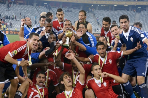 Libya National Football Team 2014