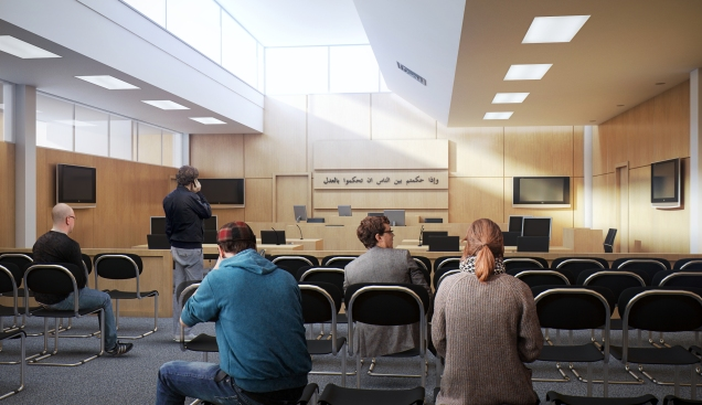 in Courtrooms where the justice will be supported with latest Tech