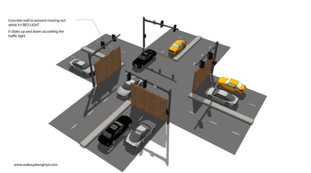 Car traffic light-01